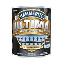 Hammerite Ultima Smooth Metal Paint - 750ml Brown